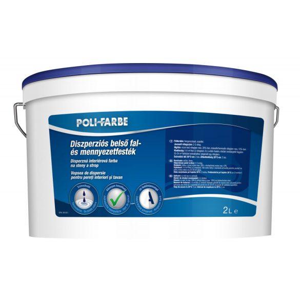 Poli-Farbe Diszperziós Fal- és Mennyezetfesték 2L