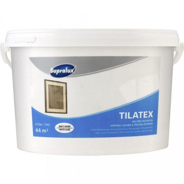Supralux Tilatex beltéri falfesték fehér 4L