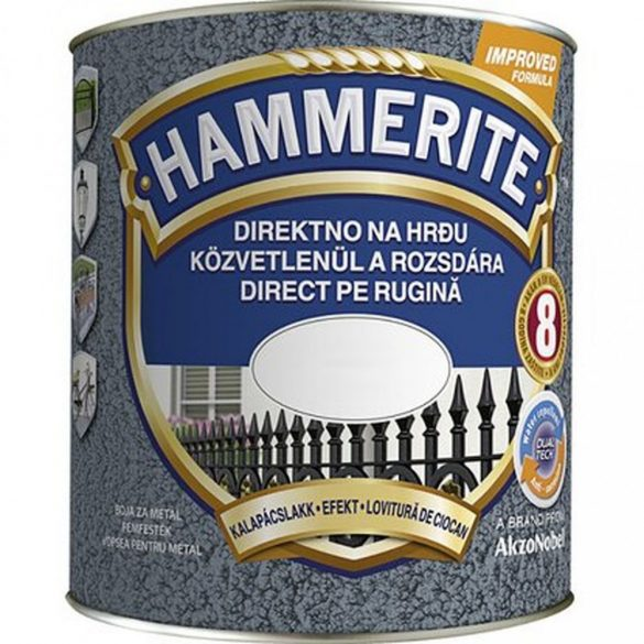 Hammerite Kalapácslakk Piros 0,25L