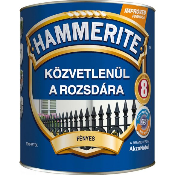Hammerite Fényes Fehér 0,75L