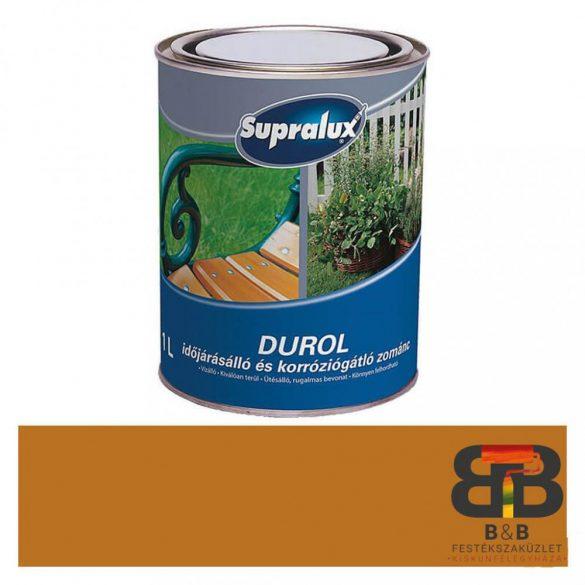 Supralux Durol időjárásálló és korróziógátló zománc okker 1L