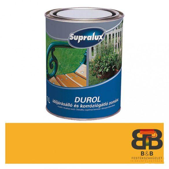 Supralux Durol időjárásálló és korróziógátló zománc sárga 1L
