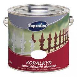 Supralux Koralkyd korróziógátló alapozó fehér 2,5L