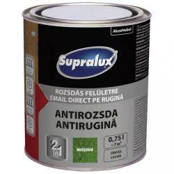Supralux Antirozsda kalapácslakk metálzöld 0,75L