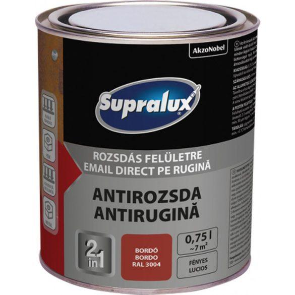 Supralux Antirozsda bordó 0,75L