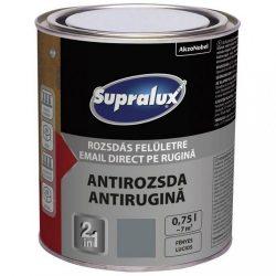 Supralux Antirozsda sötétszürke 0,75L