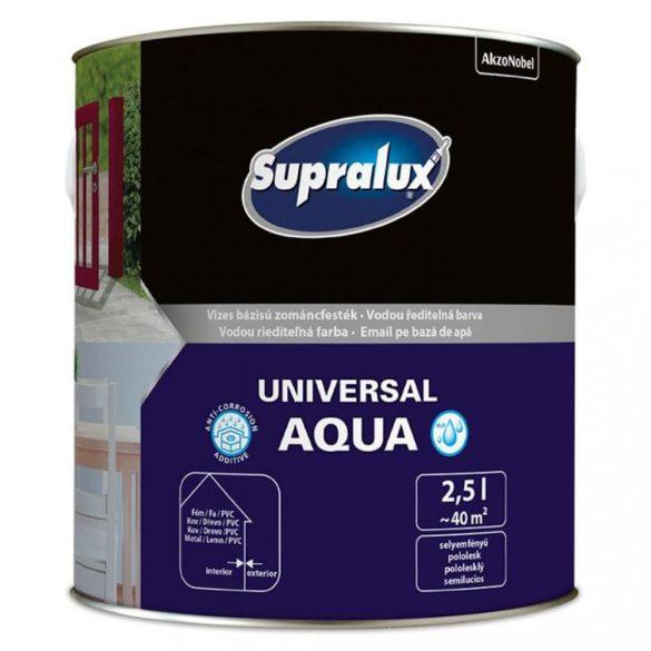 Supralux Universal Aqua Fehér Fényes 2,5L