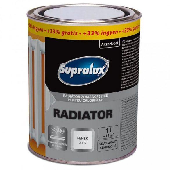 Supralux Radiátor selyemmatt fehér 0,75+0,25L