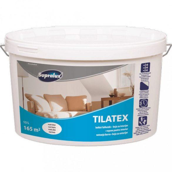 Supralux Tilatex beltéri falfesték fehér 15L