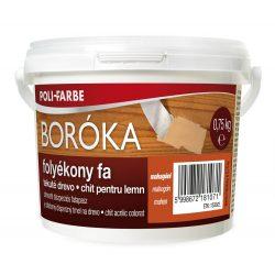 Poli-Farbe Boróka Folyékony Fa Mahagóni 750g