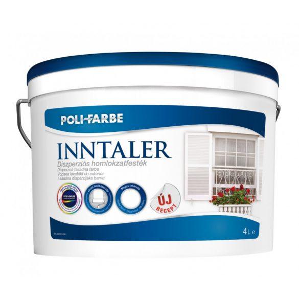 Poli-Farbe Inntaler Diszperziós Homlokzatfesték Fehér 4L (ÚJ RECEPT)