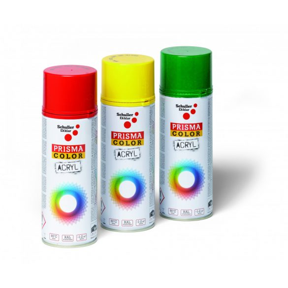 Schuller Prisma Color RAL 3002, 400ml, kárminvörös