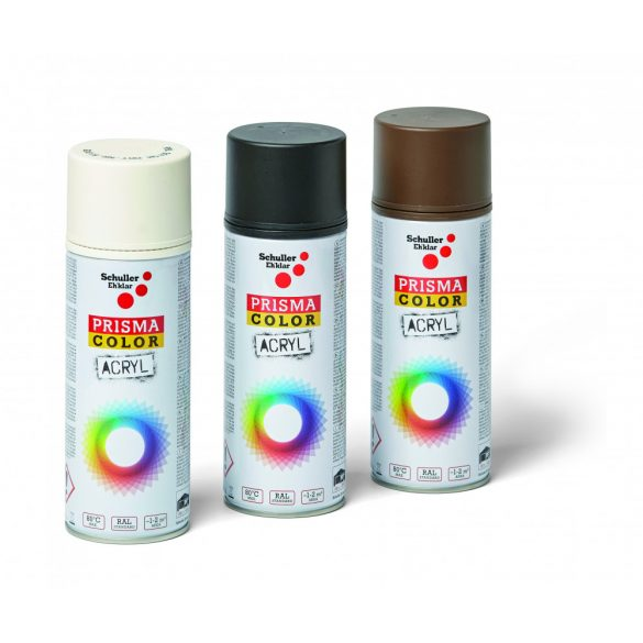 Schuller Prisma Color RAL 8014M, 400ml, szépiabarna matt