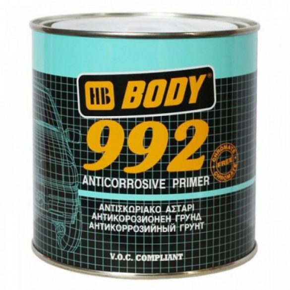 BODY 992 1K korróziógátló alapozó fekete 1kg