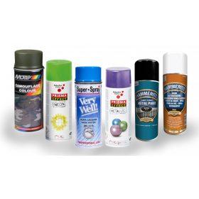 Aerosolos festék és technikai spray