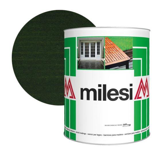 Milesi Classic viaszos vékonylazúr - sötétzöld szín XGT 614 1L