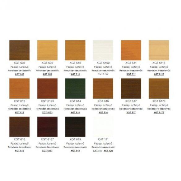 Milesi Mahagóni színű, biociddal kezelt impregnáló XHT 18 1L